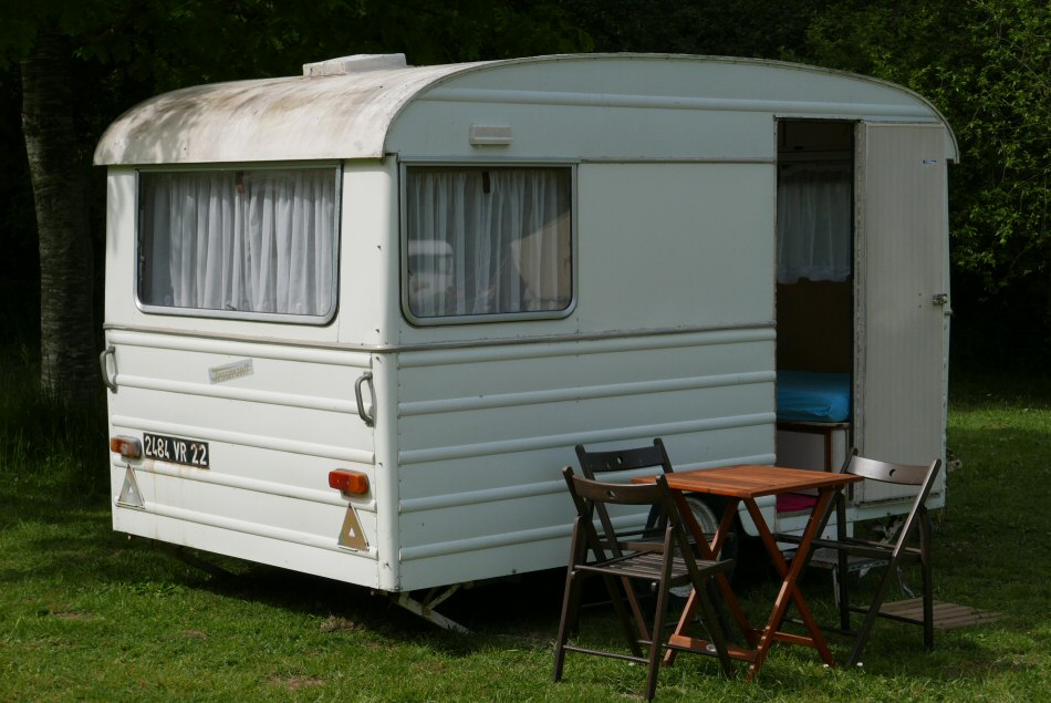 Classic French caravan