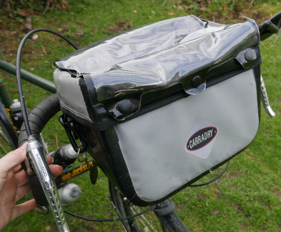 Carradice Bar Bag Perfect For Cycling Holidays In France