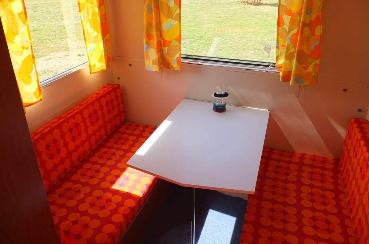 small caravan table