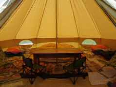 canvas patrol tent