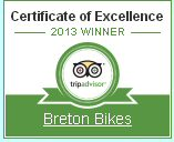 Reviews of Breton Bikes Cycling Holidays in France on Tripadvisor