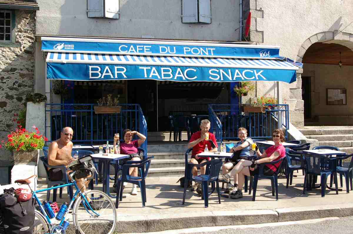 Breton Bar-hotel in France