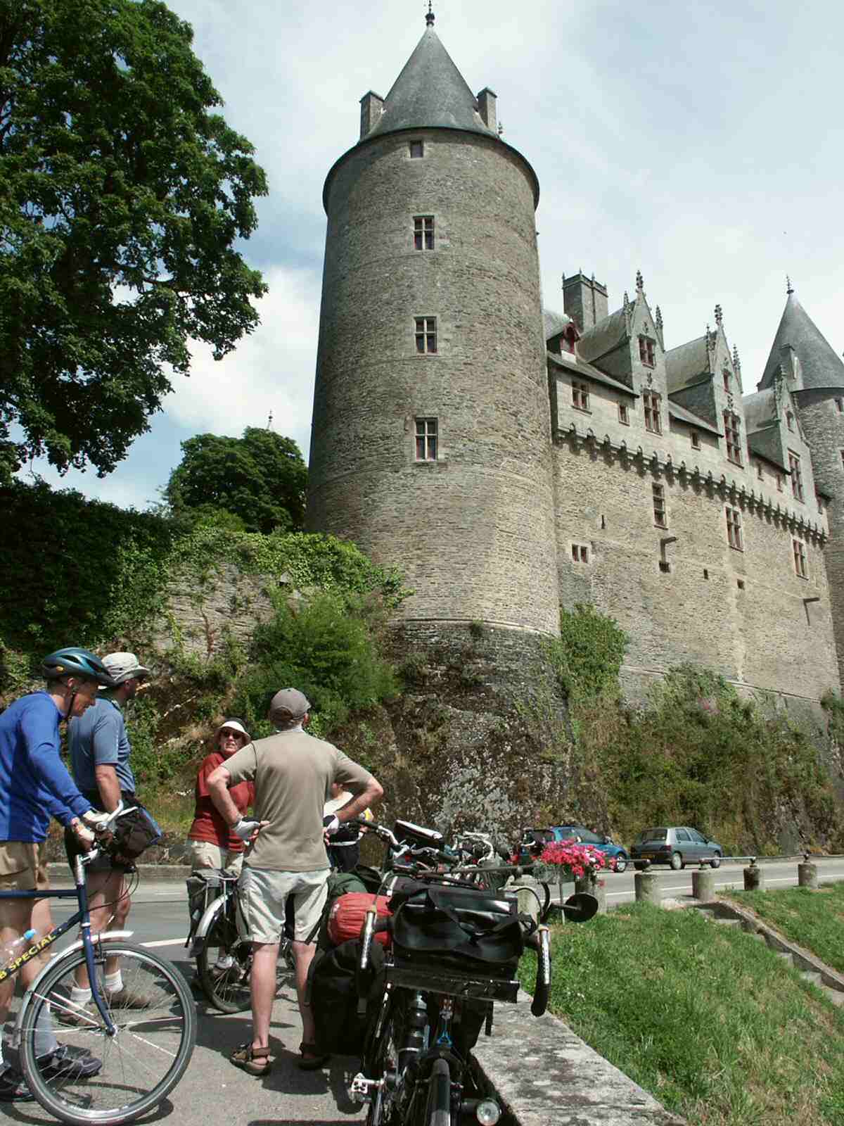 josselin in france