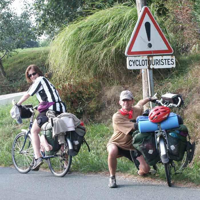velodyssee touring cyclists